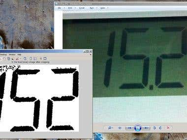 Matlab: Digital Thermometer Reader