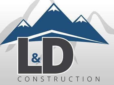 L&D Construction Logo