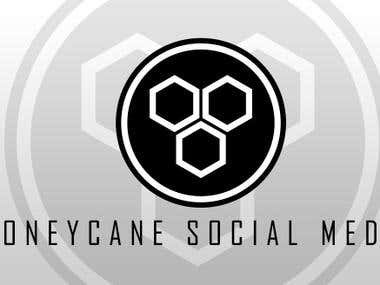 HoneyCane Social Marketing Logo