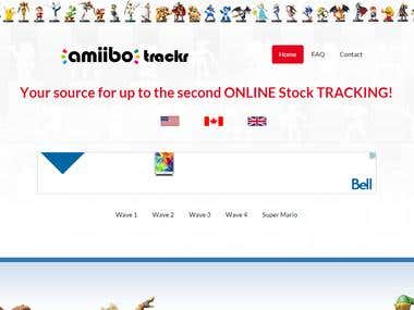 AmiiboTrackr - Website & Social Media Presence