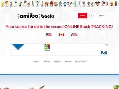 AmiiboTrackr - Website & Social Media Presence