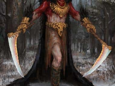 Blood shaman of the North