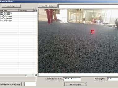 Laser shot detection