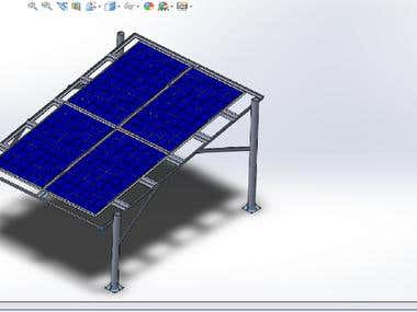 Solar Photovoltaic and Thermal Air Collector