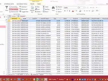 Export Data From MS Access To Excel