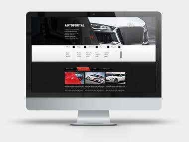 Auto - Portal. Opencart