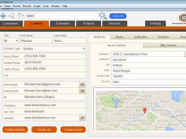 iPAD optimized Application