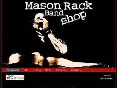 Mason Rack Band Shop