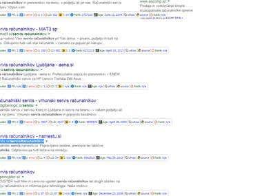 Google Top 5
