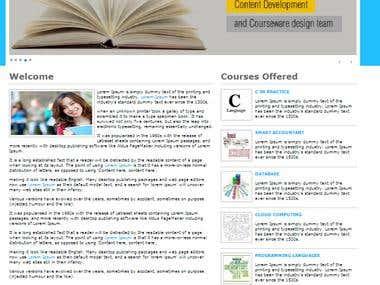 Institute Website