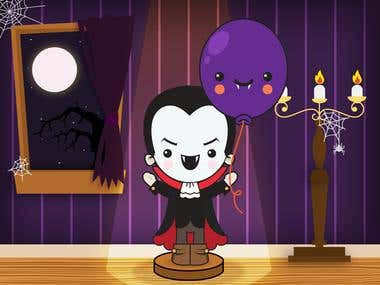 Halloween App for children