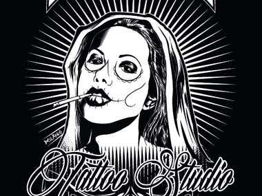 the gallery tattoo studio design number 2