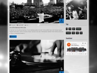 Vibration – Responsive Music & Events WordPress Theme