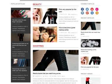 Urge – Responsive Magazine News WordPress Theme