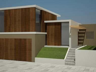 Render 3dsMax - Family home