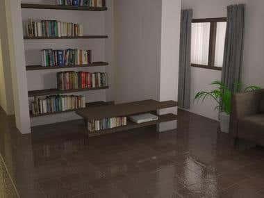 Renders 3dsMax - Living room