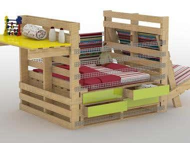 Renders 3dsMax - Furniture