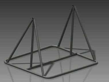 Fiber Rack Model