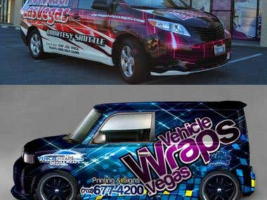 Car Wraps Design