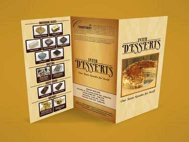 INTERDESSERTS PATISSERIE BROCHURE