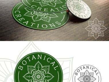 Logo for Botanical Creations
