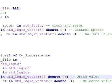 Co-Processor VHDL