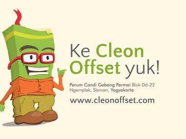 Maskot Cleon Offset