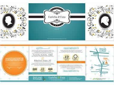 Wedding Invitation of Farcha and Fatha