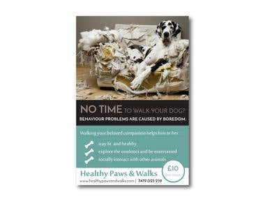 Healthy Paws FLYER
