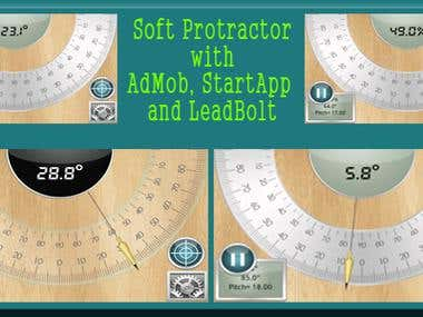Soft Protractor - Android App