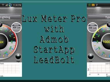 LUX Meter Pro - Android App