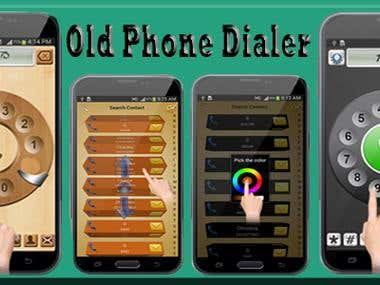 Old Phone Dialer - Android App