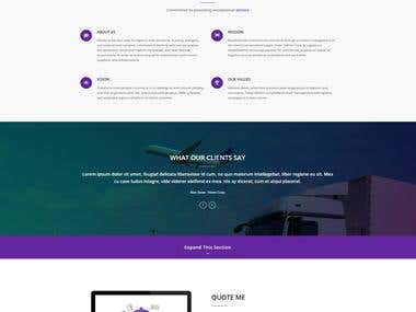 ValitonCorp Website( Development & Design )