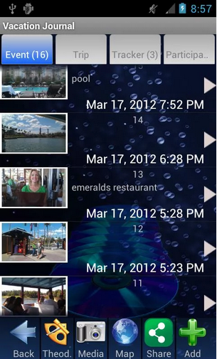 Track vacations Apps
