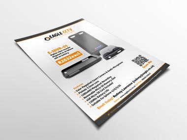 EagleCCTV Product Mailers