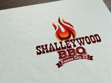 Smalleywood BBQ logo