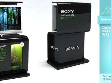 Industrial Design - Display Sony Bravia