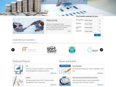 Website designing on Wordpress