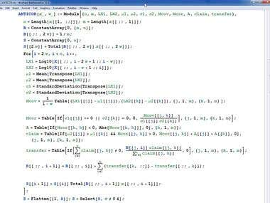 Coding financial math models in Mathematica