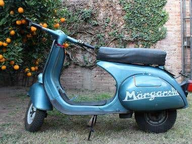 Life is better in a Vespa