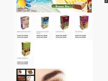 Banana Sellers Website