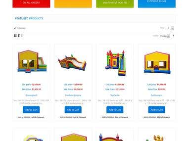 Toy eCommerce Store