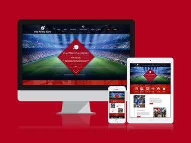 Sports Membership Site