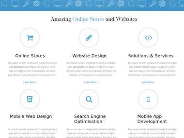 Template for Web Development Company