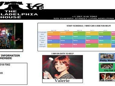 Event Calendar Website