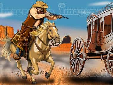 horse shooting