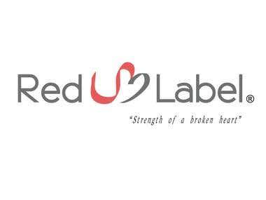 Red U Label