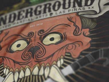 Underground Mixed Martial Arts Shirt 01