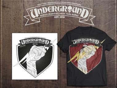 Underground Mixed Martials Arts Shirt 2