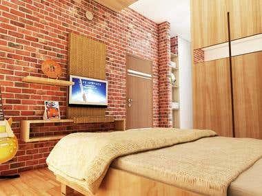 Menpora Awards Apartment Interior design
